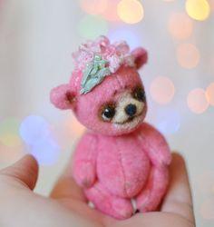 $139 Flower Artist Bear by Natalia Koroleva