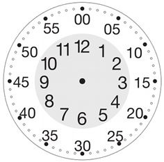 Simple Learning Clock for Kids