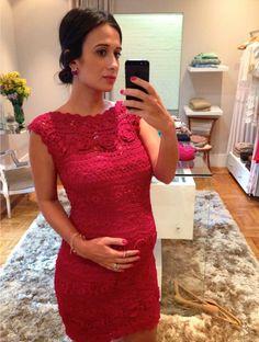 69a9eca7d0a0 Blog da Maria Sophia │ Lifestyle and Fashion: Experimentando: Giovana Dias Crochet  Vestidos De