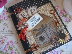 Altered Composition Book - Annette's Creative Journey.