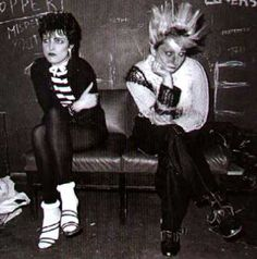 In the 70s, punk fashion was very androgynous and popular among rock music lovers.