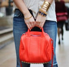 Why must I have such expensive taste? :) Fancy - Rockie Pebble Bag by Alexander Wang