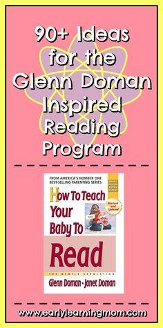 Nursery Activities, Learning Activities, Glenn Doman, Kids Routine Chart, Making Sentences, The Glenn, Homemade Books, Early Reading, Skills To Learn