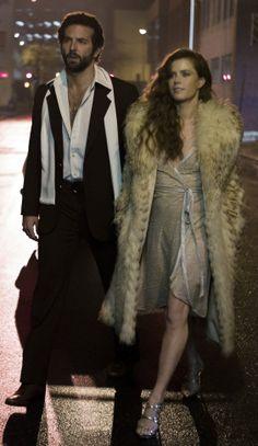 Dress, shoes & Coat /// American Hustle