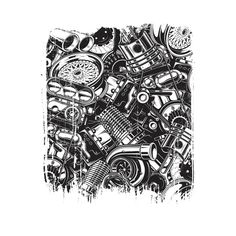 Shop Car Parts Collage Design cars t-shirts designed by Dailygrind as well as other cars merchandise at TeePublic. Buying First Car, Best Cars For Women, Automotive Shops, Collage Design, Motorcycle Art, Cute Cars, Car Parts, Cool Artwork, Art Inspo