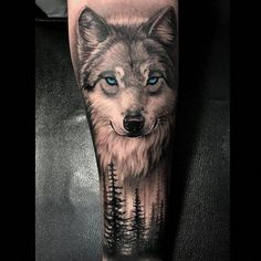 I incredibly am into the colorings, lines, and detail. This is certainly a superb layout if you would like a #wolftattoo