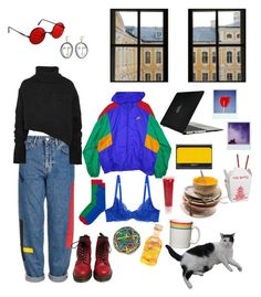 """""""Deja Vu"""" by bolis ❤ liked on Polyvore featuring Topshop, Speck, NIKE, Fiesta, Dr. Martens, Moleskine, DuWop, MANGO, Lola's Apothecary and WALL"""