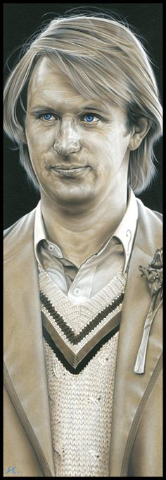 Doctor Who - The 5th Doctor by caldwellart on deviantART...Doctor Who .. :)... http://www.pinterest.com/cwsf2010/doctor-who/