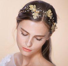 Wedding Jewellery Bridal Headpiece Headband Tiara by Stanzaprivata e2e0269df9c3