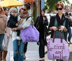 Jessica Alba loves the timi & leslie signature tote