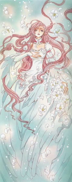 "Euphemia li Britannia from ""Code Geass"" by manga artist group CLAMP."