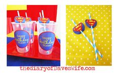 It's a Bird, It's a Plane,...It's a Superman Birthday Party! | CatchMyParty.com