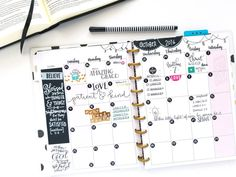 the FULL & LOVED Faith Happy Planner™ of mambi Design Team member Michelle Weissert   me & my BIG ideas