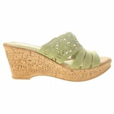 Spring Step, Wedges, Sandals, Green, Shoes, Shoes Sandals, Zapatos, Shoes Outlet, Shoe
