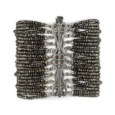 Edgy Unique Pyrite Bracelet