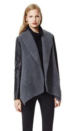 Women's Jacket - Laura Amazing Jacket in BLACK - Theory.com