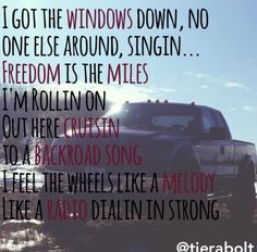 Granger Smith ~ Backroad Song #country #lyrics #music #countrymusic