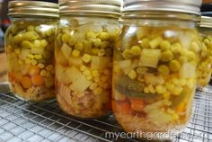 Simple chicken soup recipe for pressure canning