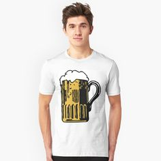 Best Beer, My T Shirt, Tshirt Colors, Bones, Heather Grey, Classic T Shirts, Shirt Designs, Slim, Cold