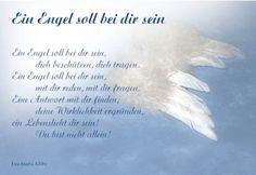 Engel | Spruch zur Taufe, Schutzengel, Geburt, Geschenk