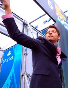 Misha Collins in Moscow