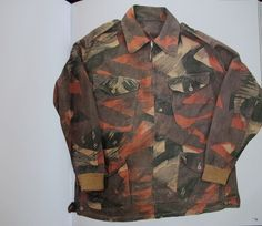 Indian Army Paratrooper's Denison Smock - 1940 Camo Jacket, Military Jacket, Army Navy Surplus, Camo Gear, Camouflage Patterns, Military Insignia, Camo Baby Stuff, Camo Print, Clothes Horse