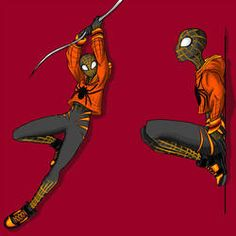 Drawing Superhero Spidersona by DrakeReagan - Spider Web Drawing, Spider Art, Spider Verse, Spider Costume, Homemade Halloween Decorations, Dc Comics, Abstract Photography, Levitation Photography, Winter Photography
