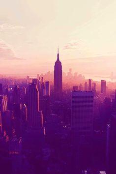 Skyline sunset.