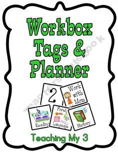 Workbox Tags & Planner
