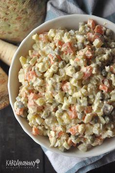 Polish Recipes, Polish Food, Snack Recipes, Snacks, Grubs, Vegetable Recipes, Food Photography, Oatmeal, Salads