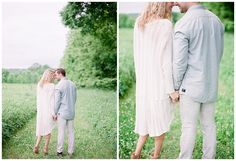 Nashville, Tennessee Engagement Session photographed by Julie Paisley Photography.