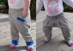 So cool- eine weite, bequeme Hose für Mädchen und Jungs. Freebook und Anleitung