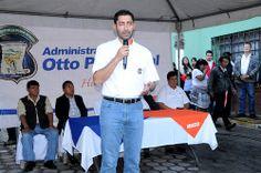 Otto Pérez Leal - Inauguración adoquinamiento Zona 1 de Mixco