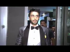 BAJIRAO Ranveer Singh at Hello Hall Of Fame Awards 2016.