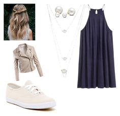 Untitled #55 by kimwhite2121 on Polyvore featuring polyvore fashion style H&M Sans Souci Keds Allurez BERRICLE clothing