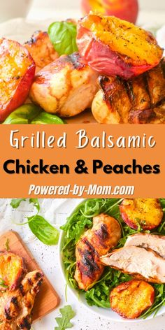 No oven needed. Make this grilled balsamic chicken and peaches on the BBQ and enjoy the leftovers cold on a salad or all by itself. Duck Recipes, Great Recipes, Chicken Recipes, Amazing Recipes, Favorite Recipes, Healthy Cooking, Healthy Recipes, Oven Cooking, Delicious Recipes