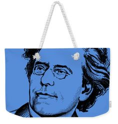 Gustav Mahler Weekender Tote Bag featuring the mixed media Gustav Mahler by Otis Porritt