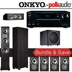 Polk Audio TSi 300 71Ch Home Theater System with Onkyo TXNR656 72Ch Network AV Receiver. This is surely a great product!