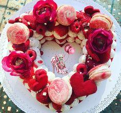 #patisserie #numbercake #tarte #patesablee #patesableerouge #vanille #ganache #ganachemontée #ganachemonteevanille #fraise #framboise #macarons #macaronmarbre #fetedesmeres #homemade #homemadecooking #instafood #marlyleroi #douceursucrees