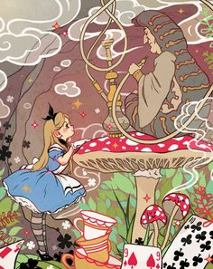 Alice's Adventures in Wonderland by Kasia Serafin