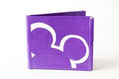 Disney duct tape wallet