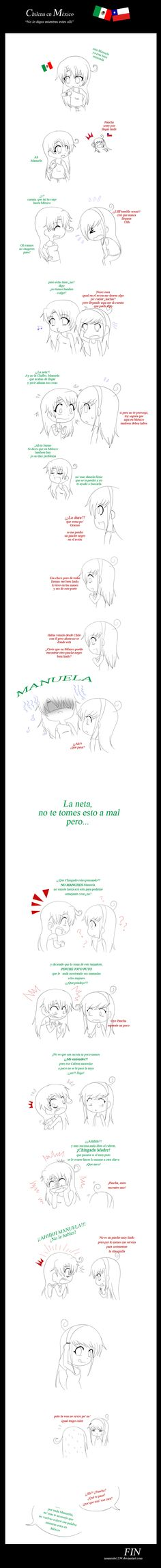 HTMR: no lo digas en Mexico by nenychan123.deviantart.com on @deviantART