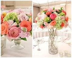 spring flower arrangements for weddings - Google Search