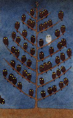 owl owl owl  Found on rachelbrice.tumblr.com