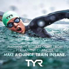Permanent results come from permanent changes. Make a change, train insane. #MotivationalMonday