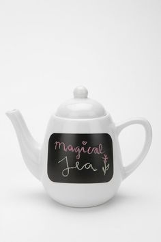 i absolutely love this teapot! i think its just adorable! $29.00 #urbanoutfitters