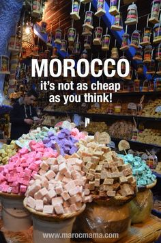 Morocco is not as cheap as most people think. Know before you go in order to budget appropriately.