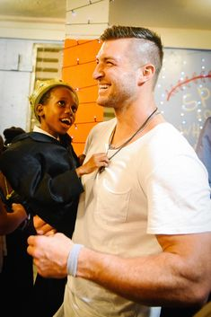 Last Thursday night, children with special needs at an orphanage in Haiti were surprised with a prom, thanks to football star Tim Tebow.   Night to Shine is an international event sponsored by the Tim Tebow Foundation. The goal is to give teens with special needs their own prom, complete with red