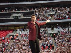 George Michael first concert at Wembley Stadium (9 Jun 200… | Flickr