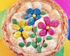 Spring Apple Pie | Cravings of a Lunatic | Easy and decorative spring time apple pie.
